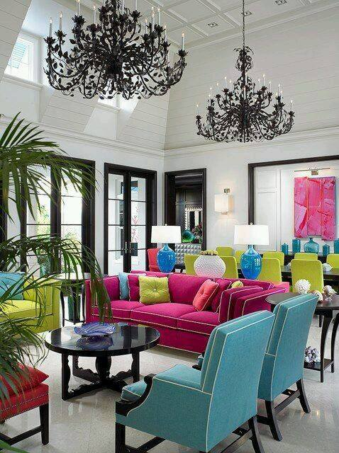 Colorful Living Room Ideas   Pinoy ePlans