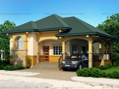 Alexa Simple Bungalow House on modern small home floor plans
