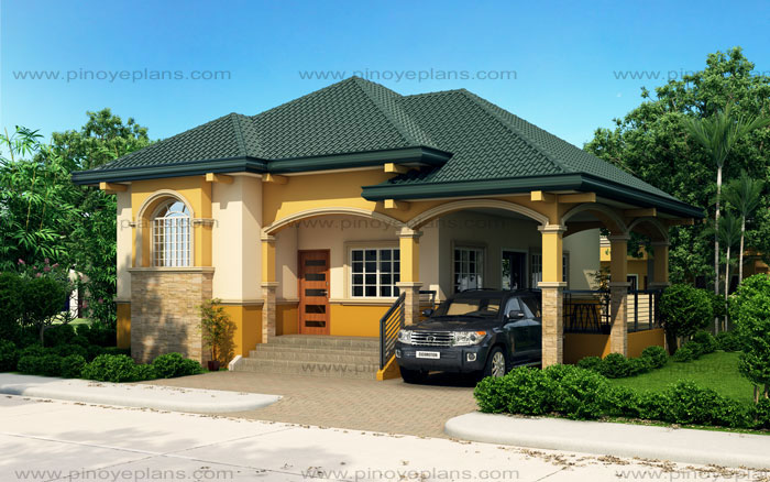Althea - Elevated Bungalow House Design | Pinoy ePlans