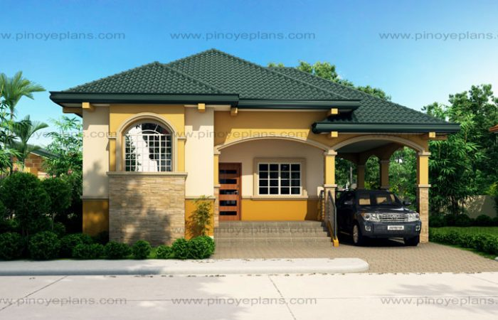 Althea - Elevated Bungalow House Design | Pinoy ePlans on raised ranch house plans, raised modular home designs, raised southern house plans, raised ranch floor plans, raised patio deck designs, raised gardens designs,
