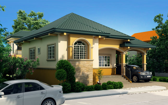Althea - Elevated Bungalow House Design   Pinoy ePlans ...