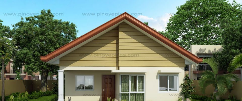 Pinoy eplans for Bungalow house with firewall