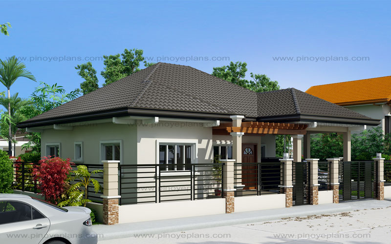 Clarissa one story house with elegance shd 2015020 for 10 best house designs by pinoy eplans