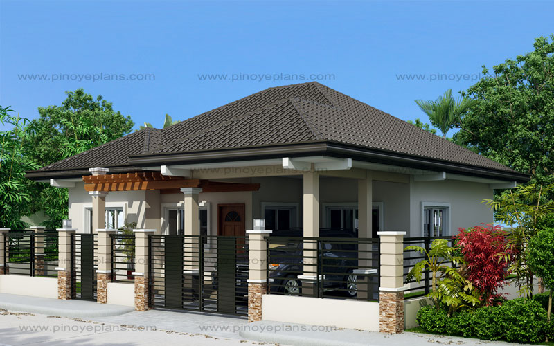 Clarissa one story house with elegance shd 2015020 for One story homes plans