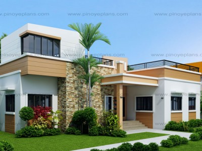 Home Design For Duplex   Duplex House Plans Pinoy Eplans