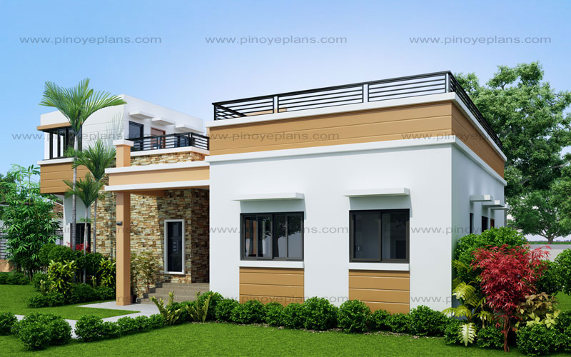 rey – four bedroom one storey with roof deck (shd-2015021) | pinoy