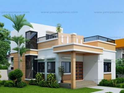Small house designs pinoy eplans for Small house design 3rd floor