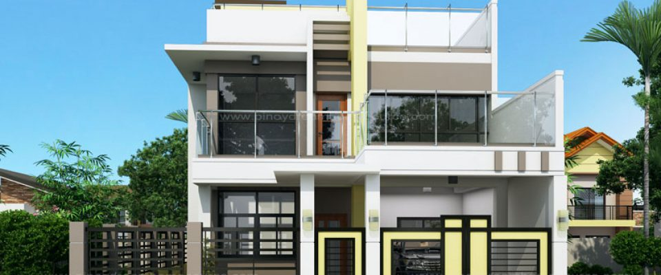 3 storey house design with rooftop story building philippines small single attached two roof deck sq - 3 Story House Plans With Roof Deck
