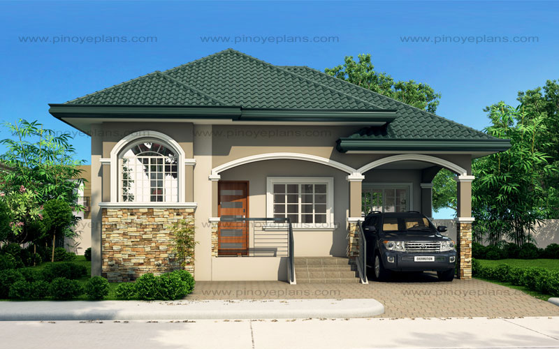 Fine Atienza One Story Budget Home Shd 20115022 Pinoy Eplans Beutiful Home Inspiration Ommitmahrainfo
