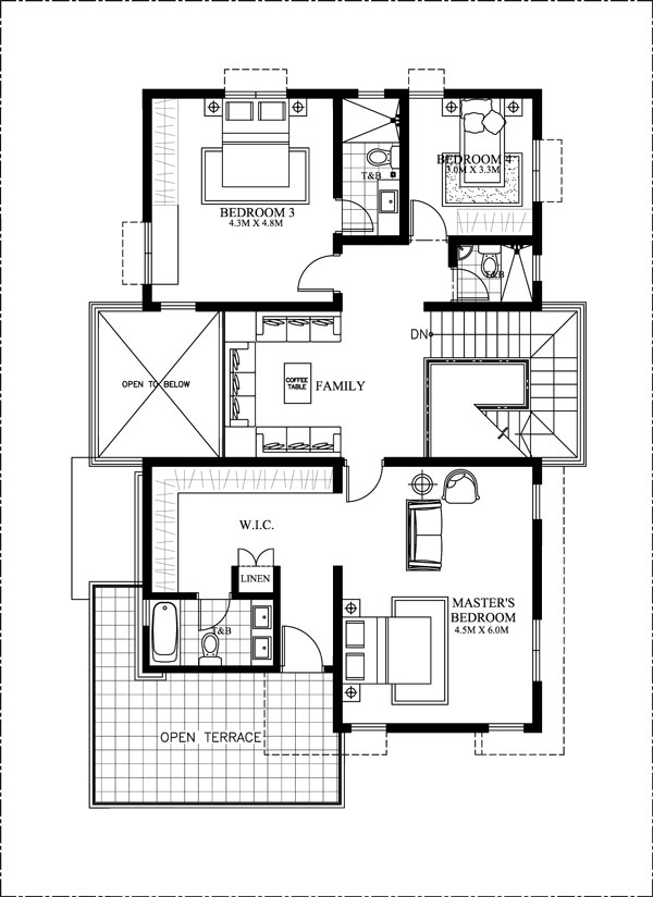 6 bedroom modern house plans amolo 5 bedroom house mhd 2016024 eplans 18028