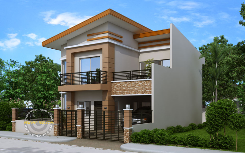 Modern house plan dexter pinoy eplans for Top house plans 2017