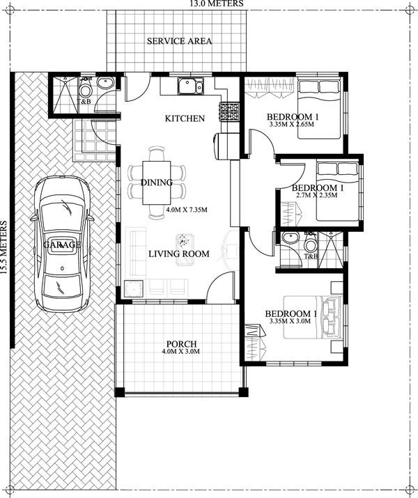 FLOOR PLAN. Small House Floor Plan Nice Ideas
