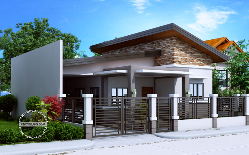 SHD 2016028 View2 - View Small House Design Two Storey With Floor Plan Gif