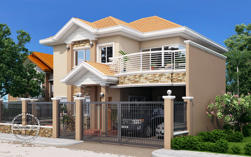 Marcelino classic 4 bedroom house plan pinoy eplans for 300 sqm house design philippines