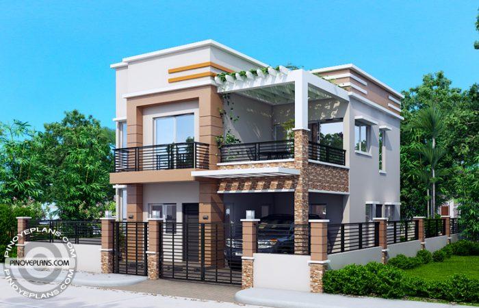 Carlo - 4 bedroom 2 story house floor plan