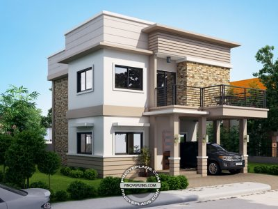 modern house. Beautiful House Floor Plan Code MHD2017031  271 Sqm 4 Beds 3 Baths Inside Modern House E