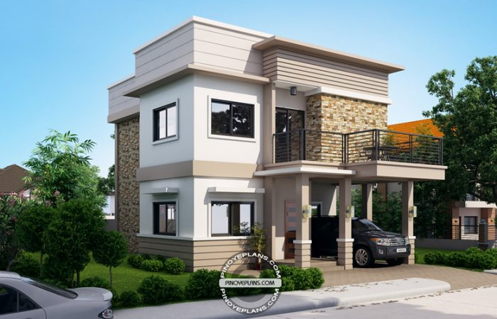 Juliet  2 Story House With Roof Deck