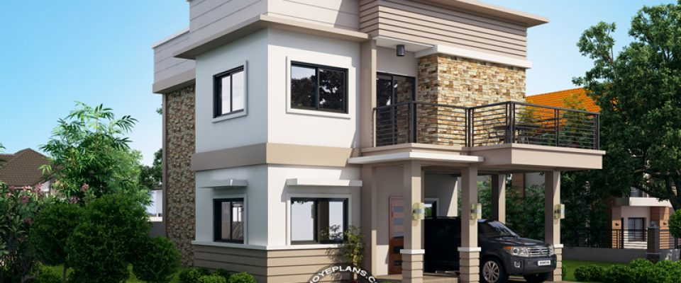 Pinoy eplans for 3 storey terrace house design