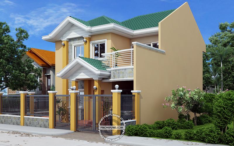 Johanne Story House Plan Firewall Pinoy Eplans