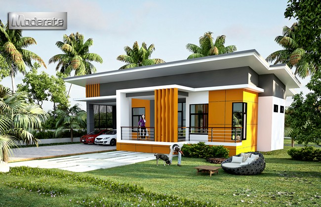 One Storey House 2 - 27+ Single Story Modern Small House Plans With Photos Background