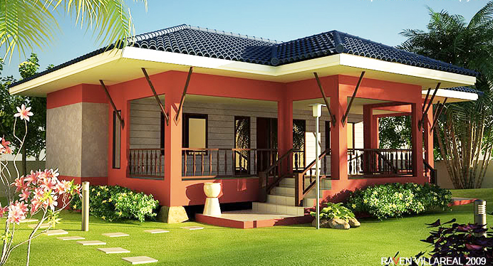One Storey House Concept With Interior Design Pinoy Eplans