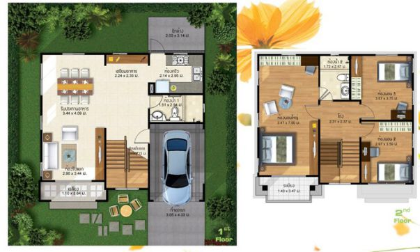 3 Bedroom And 2