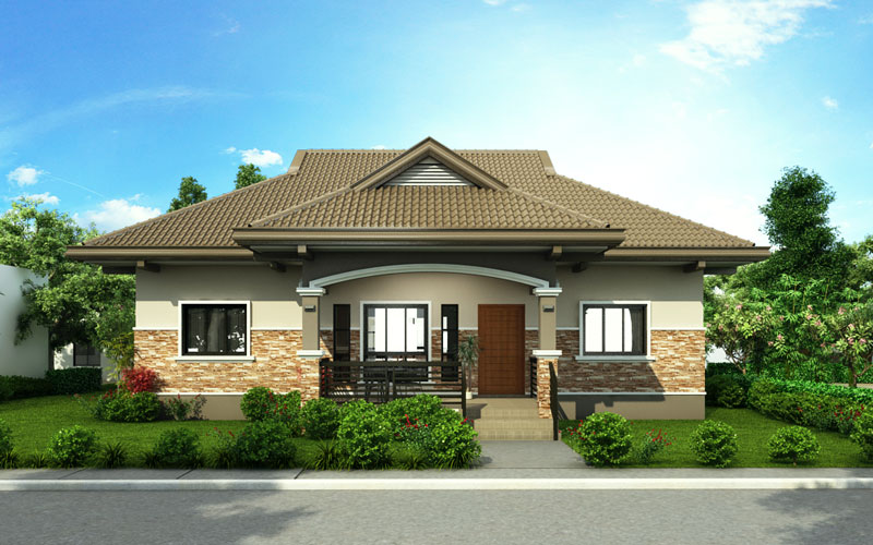 3-Bedroom Bungalow House Concept | Pinoy ePlans on cabana house designs, hut house designs, 2 level house designs, simple house designs, single story modern house designs, cape house plans designs, 2 storey house designs, one story house designs, new homes house designs, kerala house designs, 6 bedroom house designs, extreme house designs, fourplex house designs, palladian house designs, manufactured house designs, cluster homes designs, small house designs, five room house designs, craftsman house designs, cottage house designs,