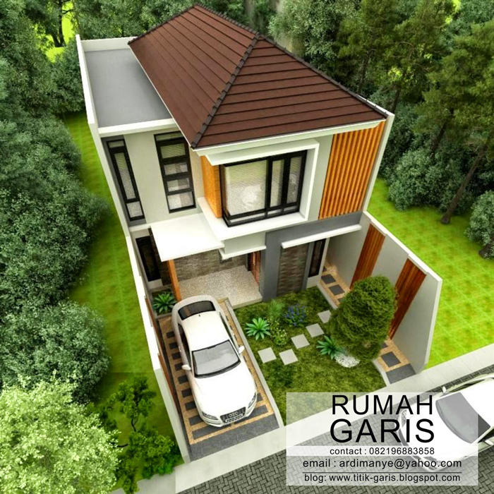 Narrow Lot House Plan 3 - 44+ Small House Designs For Narrow Lots  PNG