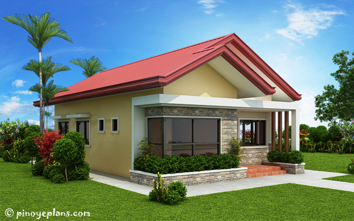 Single Storey 3 Bedroom House Plan on Modern Front House Elevation Designs