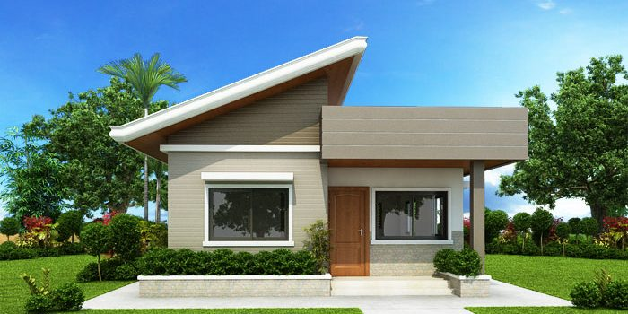 Two Bedroom Small House Design (SHD-2017030) | Pinoy ePlans