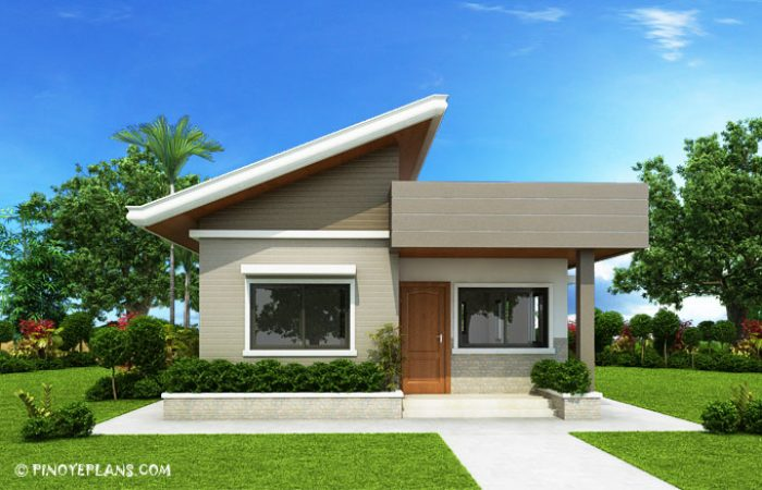Two Bedroom Small House Design (SHD 2017030) Pinoy ePlans