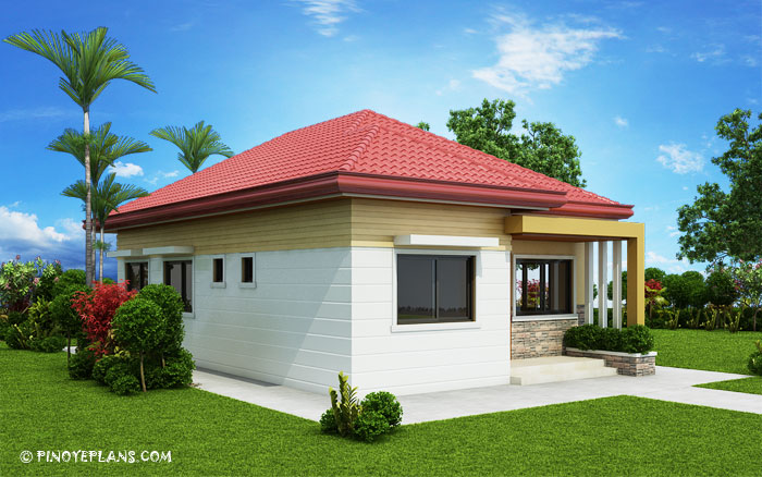 SHD 2017032 DESIGN5 View01 - 47+ Small Home Front Side Design  Pics