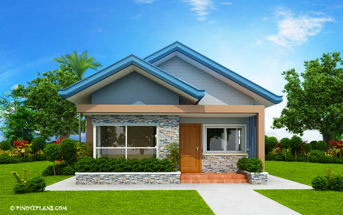 Three Bedroom Bungalow House Plan Shd 2017032 Pinoy Eplans