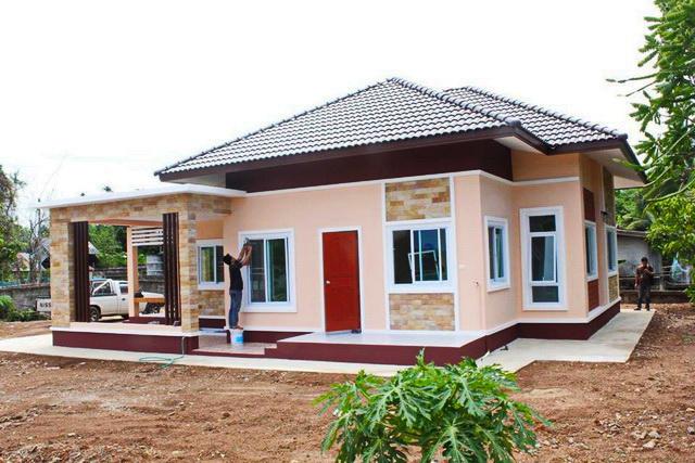 Tropical Style One Storey House Design 1?775298u0026775298