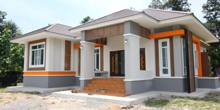 Review elevated 3 bedroom thai house design pinoy eplans for Small house design thailand