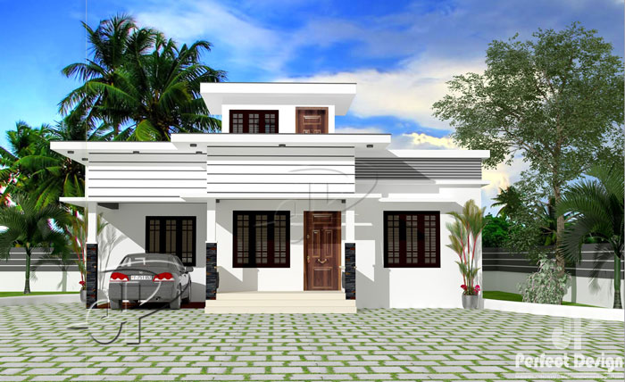 2 bedroom modern minimalist home design