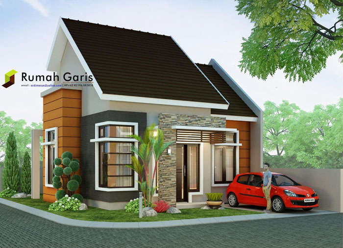 Two Bedroom 60 Sqm House Plan Pinoy Eplans