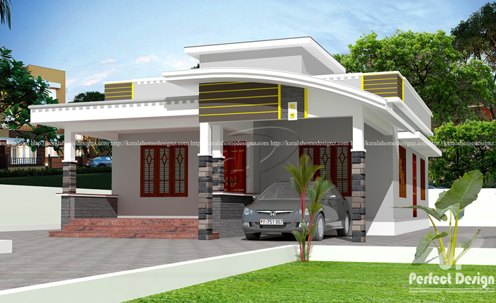 Contemporary House Design with 2 Bedrooms   Pinoy ePlans
