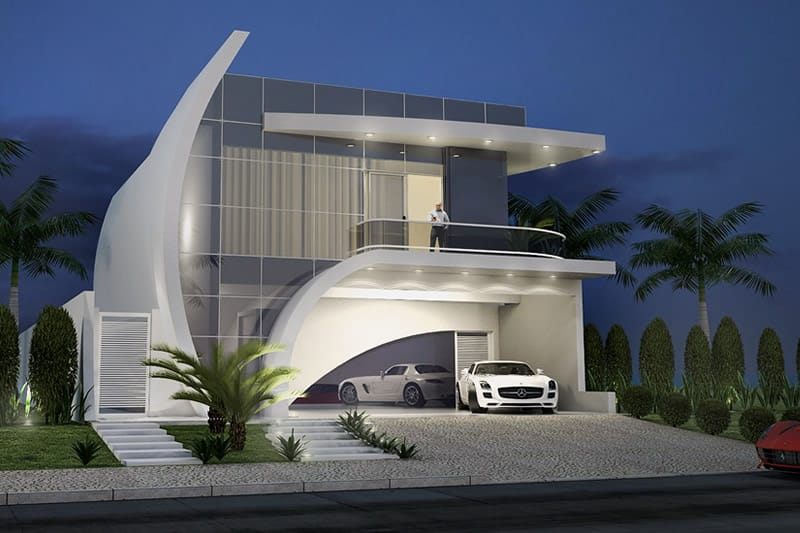 Modern 3 Bedroom House Design 05Pinoy ePlans
