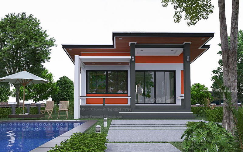 65 Square Meter 2-Bedroom House | Pinoy ePlans