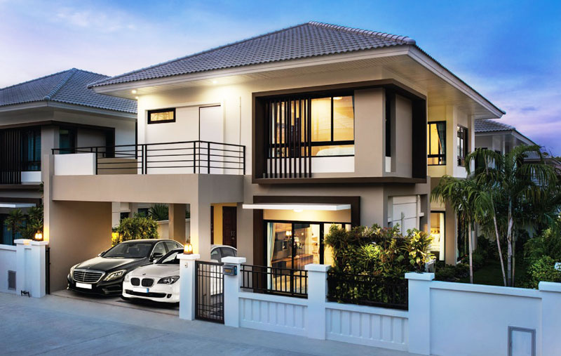 Home Design With Parking