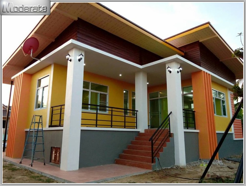 Modern Single Storey Resort Style Home Pinoy Eplans