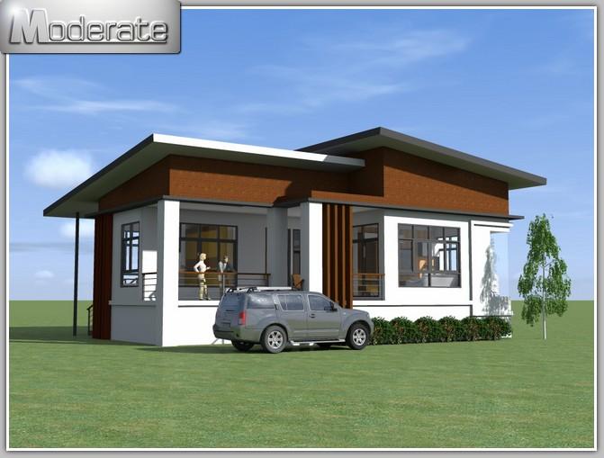 Modern Single Storey, Resort Style Home | Pinoy ePlans