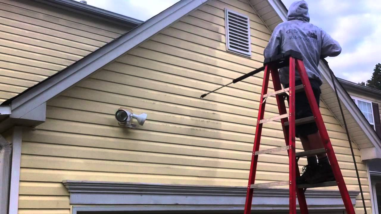 7 tips for power washing house siding pinoy eplans - How to clean the exterior of a house ...