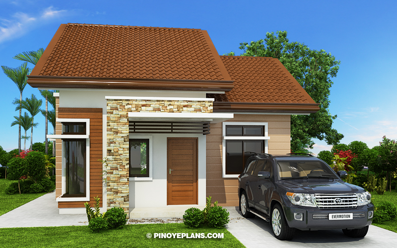 Katrina - Stylish Two Bedroom House Plan