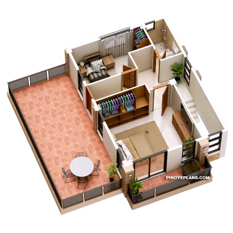 MHD-2018036_Second-Floor-Plan 3d