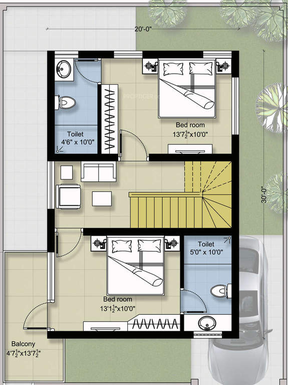 First FloorPinoy ePlans – Villas At Fortune Place Floor Plan
