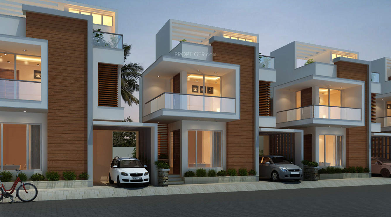 Elegant Modern House Plan With Three Bedrooms And Three Toilet And