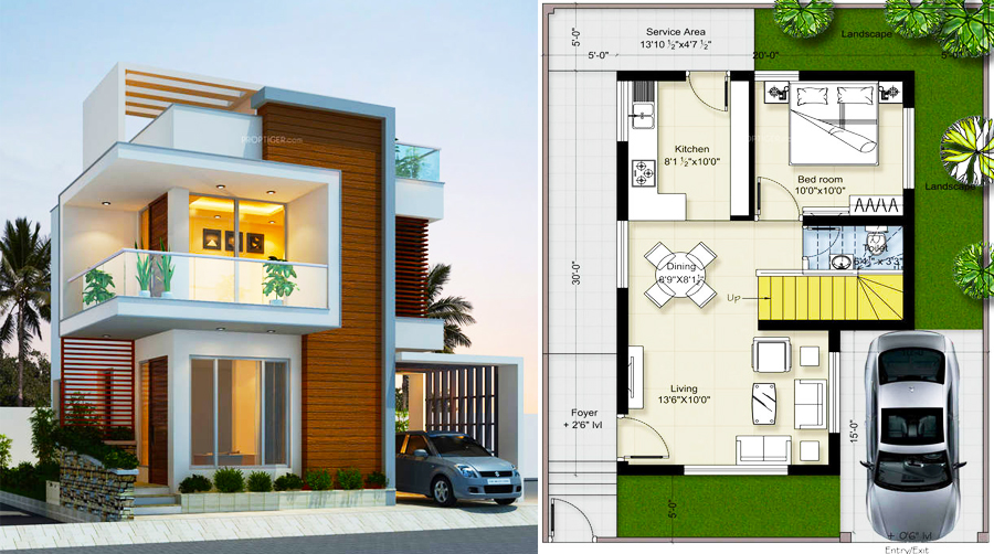 Modern House Plans And Designs New