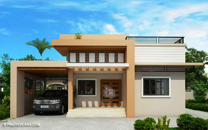 Kassandra Two Storey House Design Roof Deck Pinoy Eplans